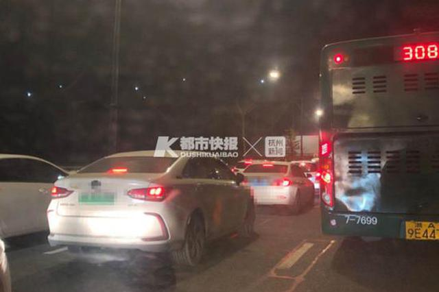 清明小长假前杭州的晚高峰 你堵在路上了吗