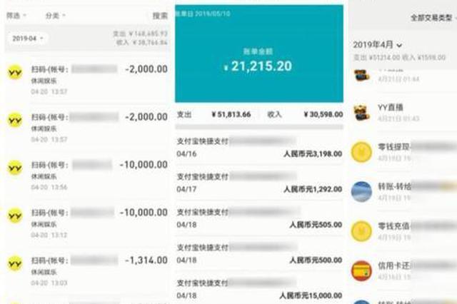 盗刷好友信用卡17万元用于打赏主播 浙江1男子被刑拘