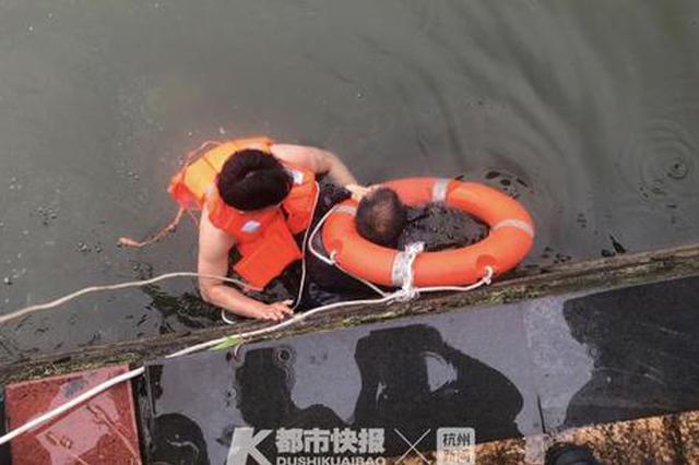 争分夺秒 台州三门警方联合消防员火速营救落水老人