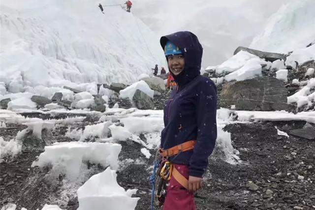 浙江唯一登顶珠峰女队员陈琼:挑战珠峰最好在30岁以后