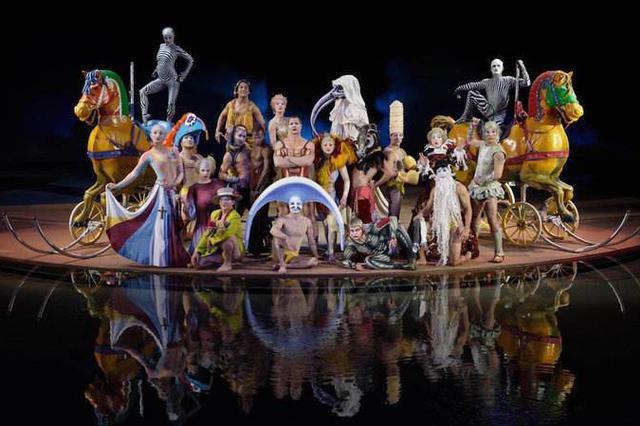 6月3日加拿大太阳马戏团 在杭州进行全球首场复演