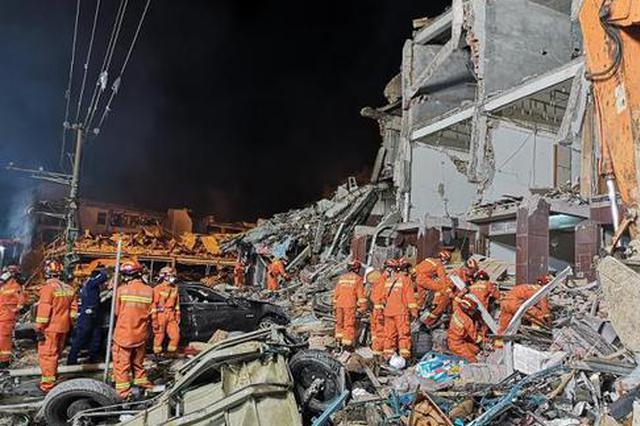 消防员回忆浙江温岭槽罐车爆炸现场:40分钟内救13人