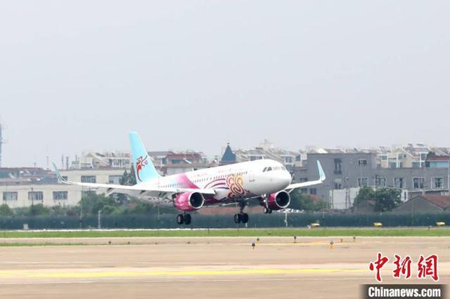 首架杭州亚运会彩绘飞机亮相 未来还有多架将投入使用