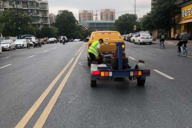 多道检测就更安全 杭州市政部门推行道路检测新规定