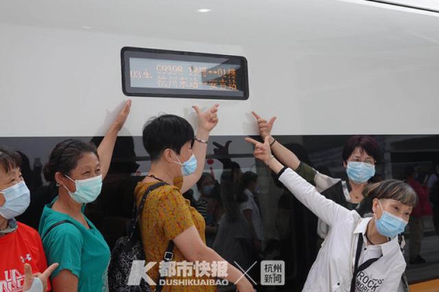快了2小时 商合杭高铁直达杭州且带安吉进入高铁时代