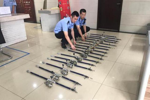 杭州有3套房的建材店老板为占钓位 偷拿别人的钓鱼竿