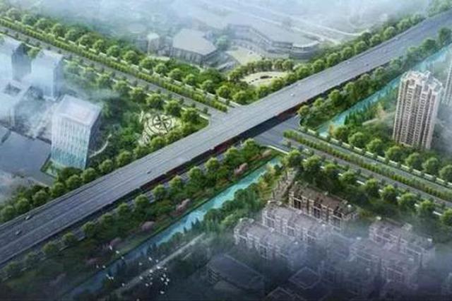 杭州萧山红十五线9月底通车 全线双向四车道变六车道
