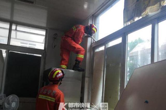 义乌1男子报警说蛇钻进空调内机 消防到场发现是老鼠