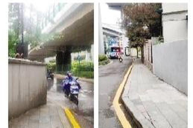最窄处不足30cm 杭州最窄人行道已拓宽且纳入养护管理