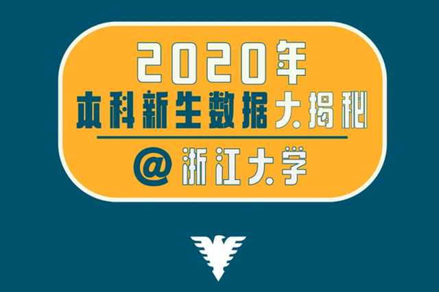 最小新生年仅14岁 浙江大学2020级本科新生数据出炉