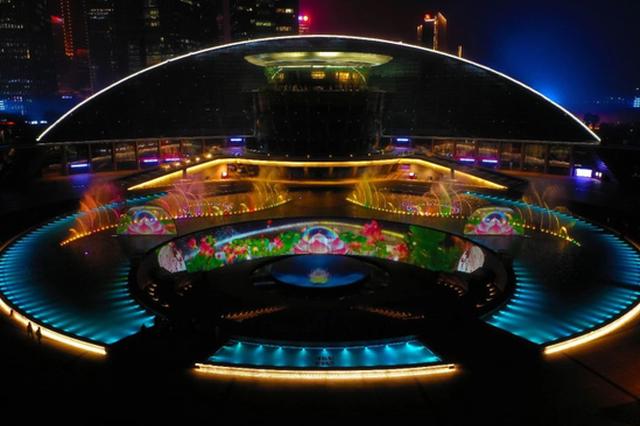 杭州钱江新城灯光秀播放时间调整 开始实施秋冬季亮灯