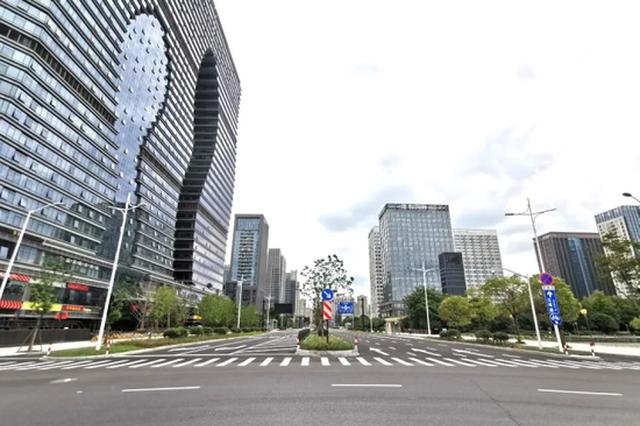 杭州滨江江晖路地面道路正式通车 望江隧道全部开放