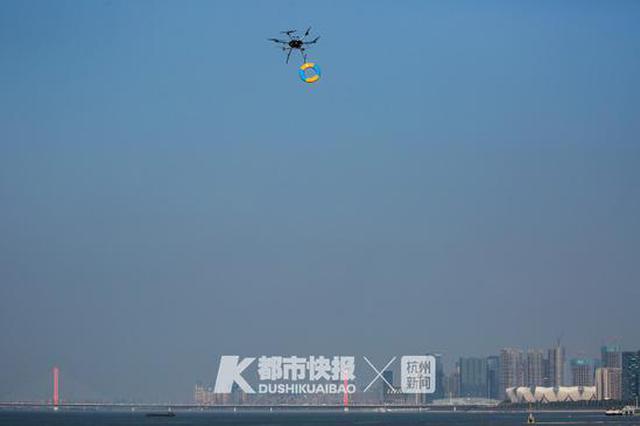 首次大规模联动演练 杭州这场立体救援演习太酷了