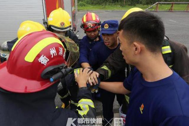 17岁许愿成为一名消防员 衢州小伙朝梦想走得很坚