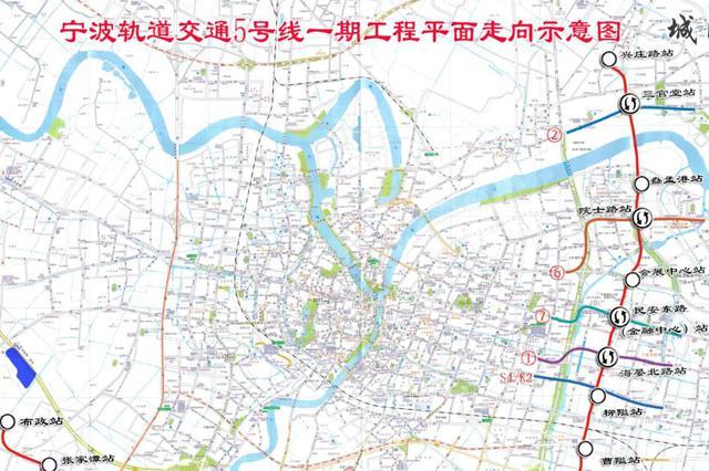 宁波地铁5号线一期最新进展 13个盾构区间实现双线贯通
