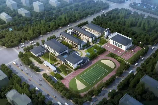 镇海中心学校新城校区基本完工 明年春季投用