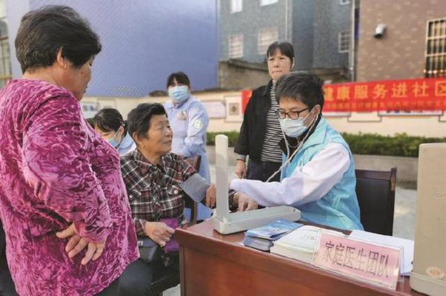 象山县中医医院集团西周社区义诊 走进社区敬老院