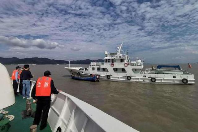 北仑加强辖区海域船舶检查 全面阻断非法入境行为