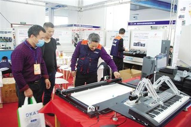 新型系统首度亮相慈溪工博会 装备行业向高精尖升级