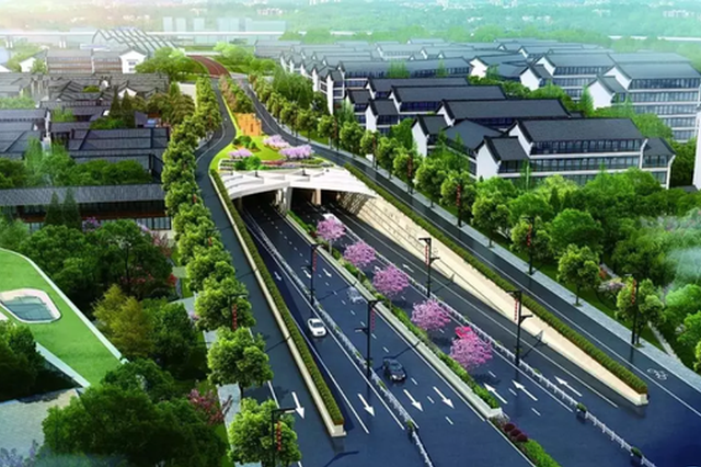一路直达大城北 浙江首条双层隧道再迎重大进展(图)