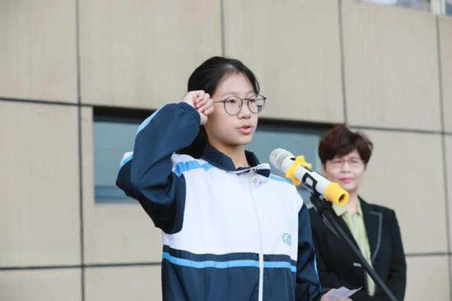 杭州一初中女生冲上热搜 跑出国家一级运动员水平(图)