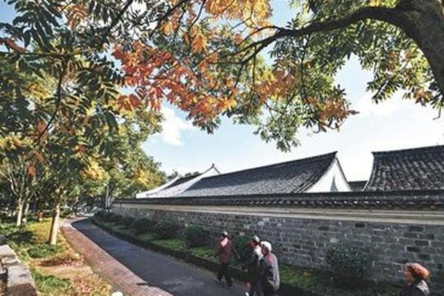 千年古镇慈城犹如一幅唯美画卷 秋日感受古镇之美