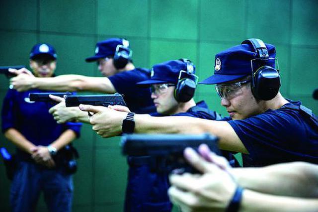 象山开展枪械理论和实操训练 厉兵秣马训练精兵