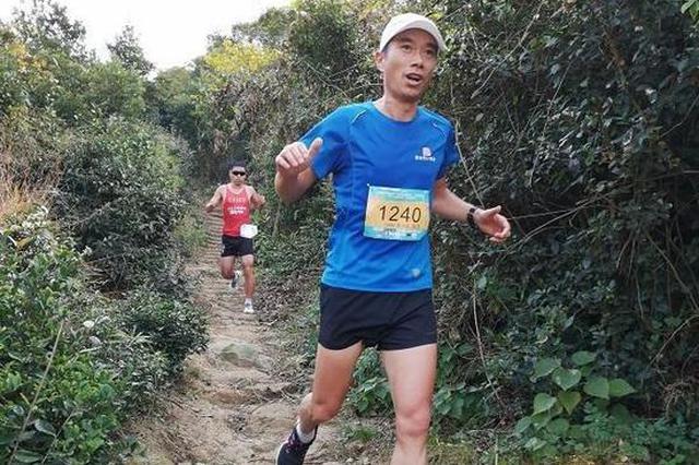 省长跑达人聚北仑越山丘庆丰收 比赛共分三个组别