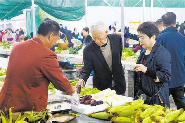 浒山菜市因提升改造工程施工改造 启用立信临时市场