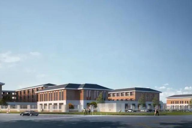 镇海区蛟川新建小学项目已规划 项目分为二期建设