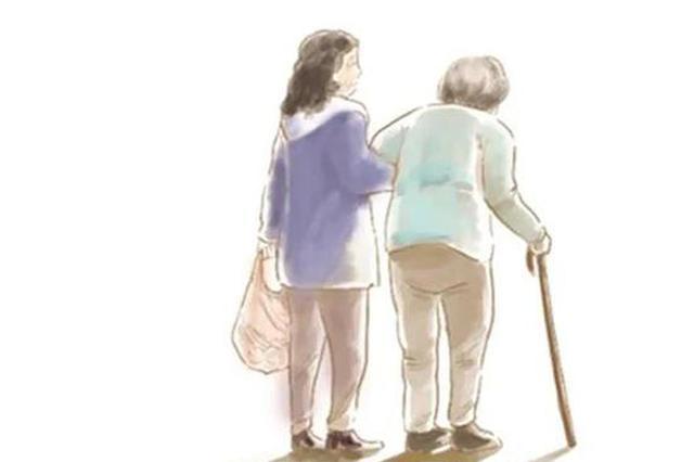 杭42岁女儿辞职照顾帕金森病的妈妈 用爱守护这个家