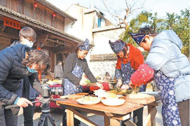央视来宁海县拍摄春节美食 节目将于春节期间播出