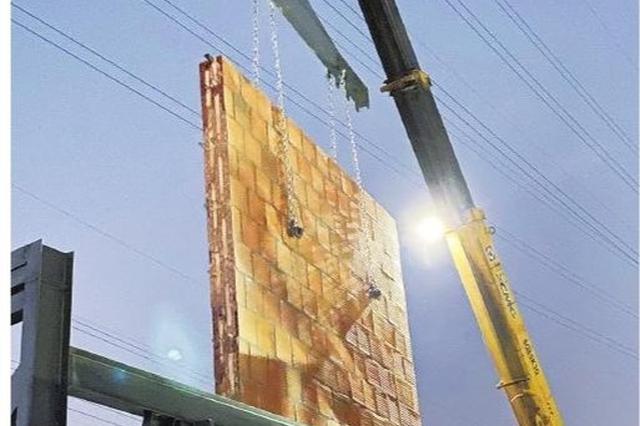 利源龙腾建材烧制第一批新型墙材 未来市场大有可为
