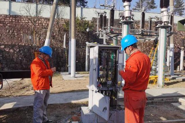 110千伏大桥变电站升级改造 有效确保平稳迎峰度冬