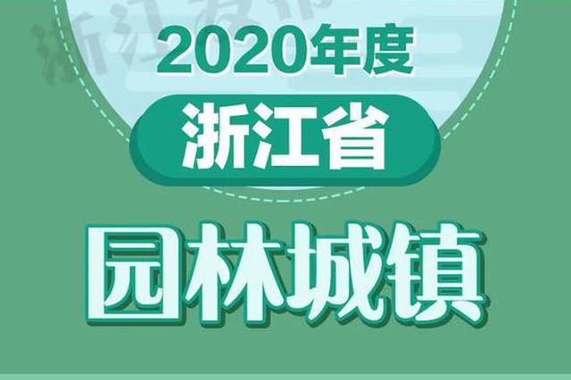 33个镇达标 浙江新命名一批省级园林城镇(组图)