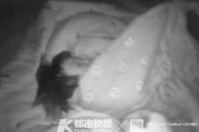 杭州良渚一小区电梯起火 民警抱起小女孩冲下14楼