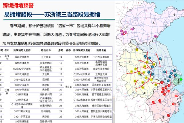 沪苏浙皖鲁四省一市发布区域高速公路出行服务指南