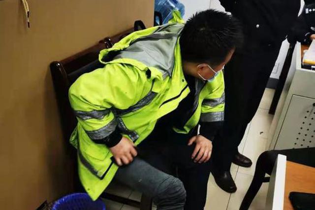 勇救货车致腿部被大面积灼伤 浙1高速交警:都是皮外伤
