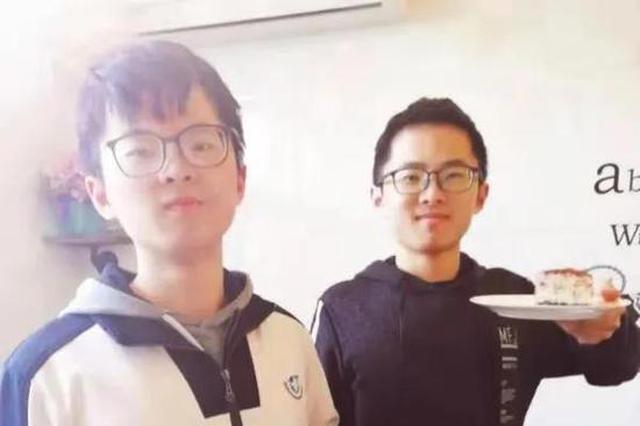 这是什么神仙兄弟情 杭电双胞胎同时考上浙大研究生