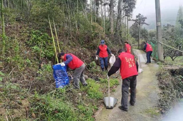 象山墙头开展环境卫生大扫除活动 深入提升城乡品质