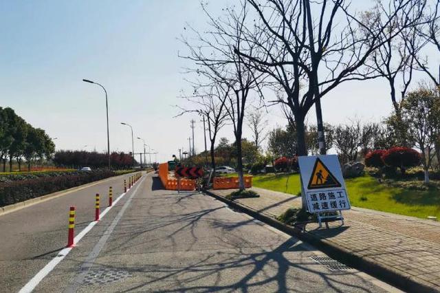 奉化联丰村路口提升改造工程开工 工程全长约1355m