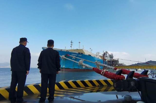 宁波舟山港接卸大型LNG船29艘次 创历年同期新高