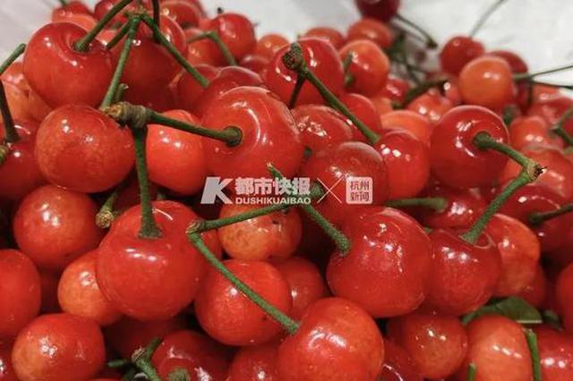 杭州这种水灵灵的本地小红果上市了 吃到代表好运