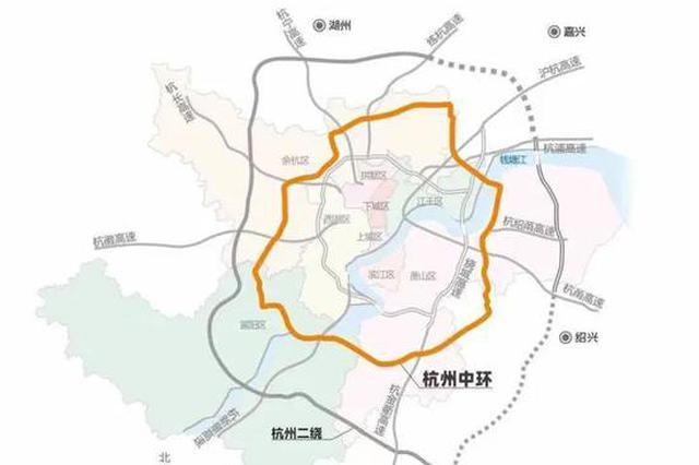 杭州中环良渚至未来科技城段7月底计划通车 便民出行