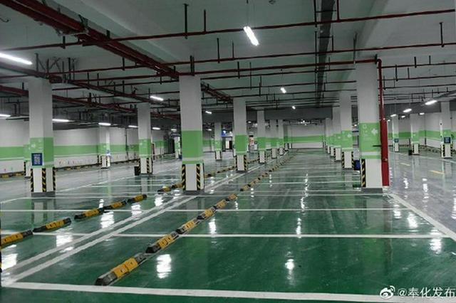 奉化东门广场地下停车场8月15日开放 9月1日前免费