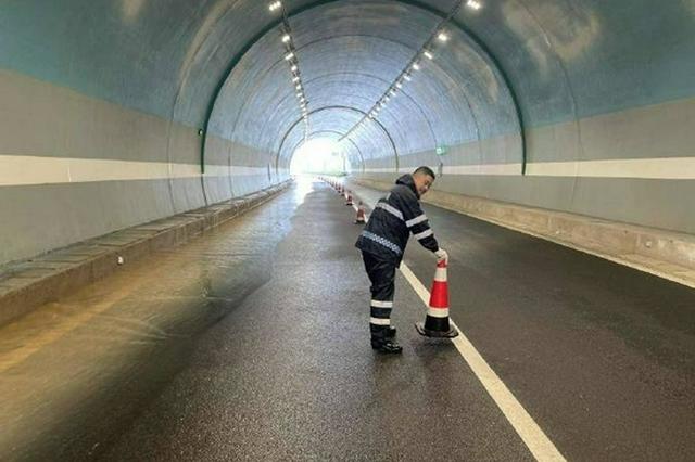 为应对台风灿都 奉化隧道管理公司进入全线防汛备勤