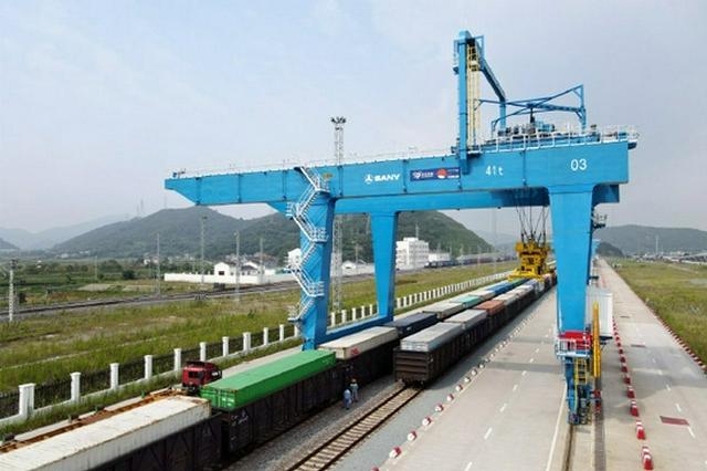 宁波舟山港铁路穿山港站今年海铁联运量超20万箱