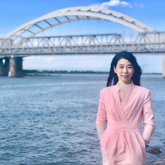 新生叶珺君为浙江工贸职业技术学院设计学院副院长