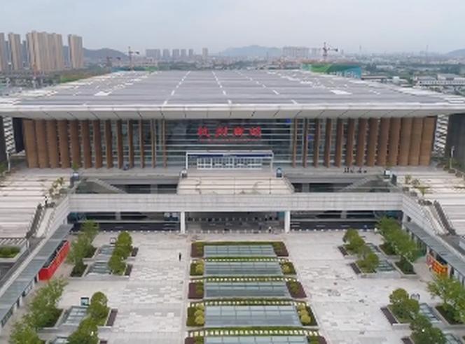 首发!杭州南站航拍视频来了!