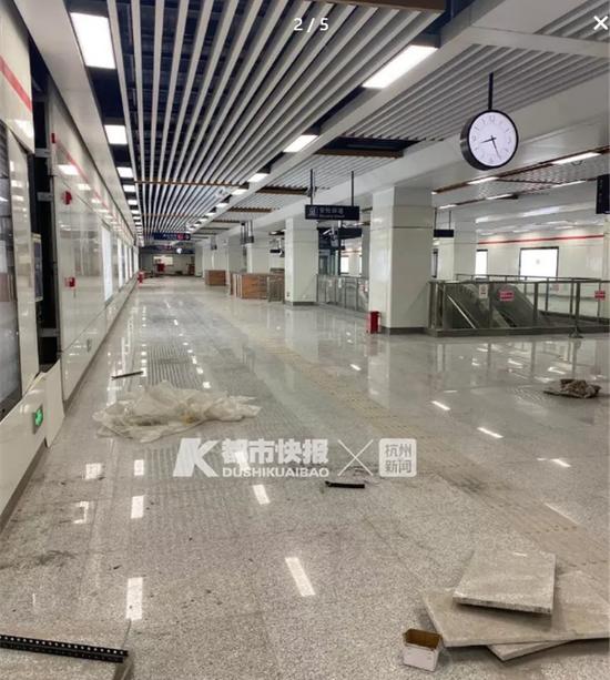杭州地铁1号线三期站点亮灯 杭海城际铁路等有新进展